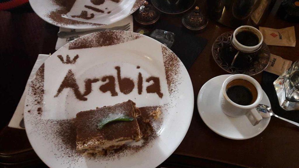 arabia dessert